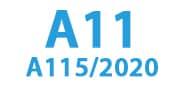 A11 (A115 / 2020)