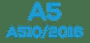 A5  (A510 / 2016)