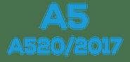 A5  (A520 / 2017)