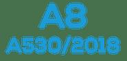 A8  (A530 / 2018)