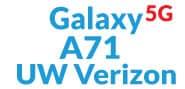 Galaxy A71 5G Cases (UW Verizon)