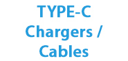 TYPE-C Chargers / Cables