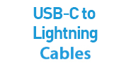 USB-C to Lightning Cables